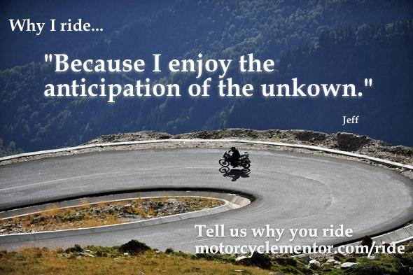 Why I Ride